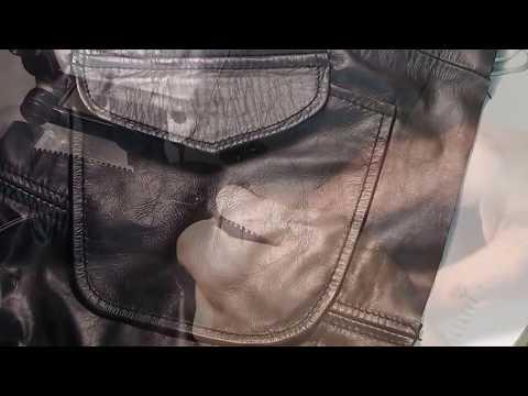 Как шьют кожаные куртки