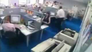 Bad Day at the office compilation video - song: daniel powter