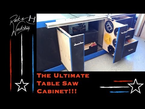 The Ultimate Table Saw Cabinet