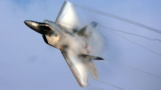 F22 Going Supersonic And Superior Manuverability Showcase HD