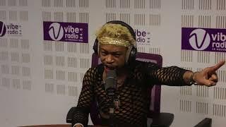 S KELLY s'emporte à Vibe Radio