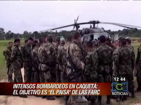 Intensa persecución en Caquetá contra alias el 'Paisa' de las Farc RCN