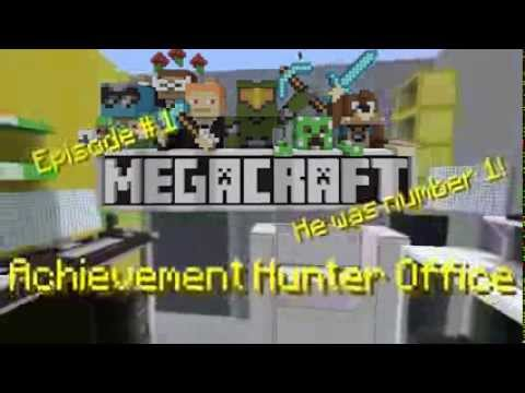 MegaCraft - Episode 1 - Achievement Hunter Office