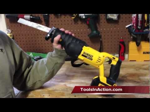 DeWALT DCS380L1 20V MAX* Lithium Ion Reciprocating Saw Kit