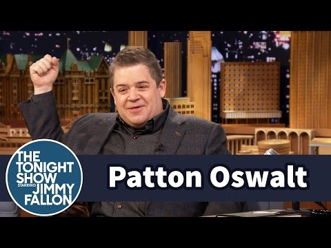 Patton Oswalt Used a Selfie As His Book Jacket Photo