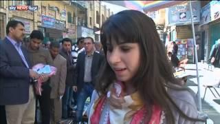 بغداد.. أول بائعة كتب بشارع المتنبي