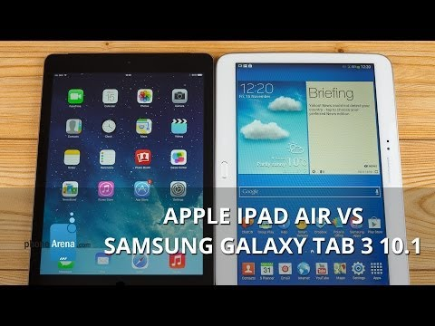 Apple iPad Air vs Samsung Galaxy Tab 3 10.1 (2)