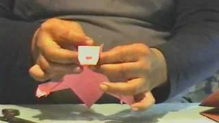 How To Make Origami Cyclops Creature.wmv