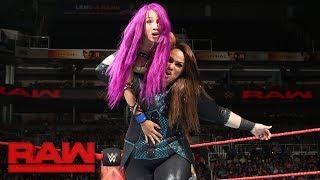 Sasha Banks & Bayley vs. Alexa Bliss & Nia Jax: Raw, July 3, 2017