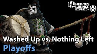 ► Heroes of the Storm: Washed Up vs. Nothing Left - Division S Playoffs