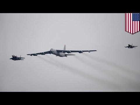 North Korea nuke test: US deploys B-52 over South Korea after North's nuclear test - TomoNews