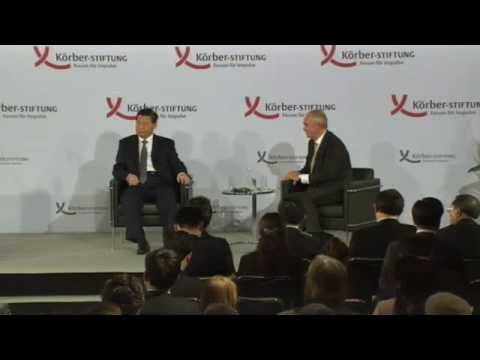 China's President Xi Jinping to give speech in Berlin