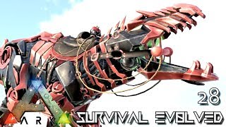 ARK: SURVIVAL EVOLVED - TEK GIGA TRON RETURNS GIGANOTOSAURUS TAME !!! E28 (MOD EXTINCTION CORE)