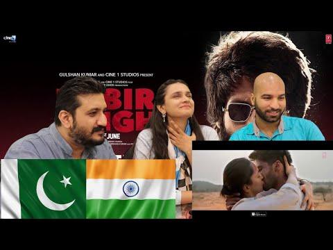 KABIR SING: BEKHAYALI | PAKISTAN REACTION | Shahid Kapoor |
