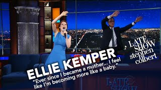 Ellie Kemper Performs A Ballad Inspired By Her Baby