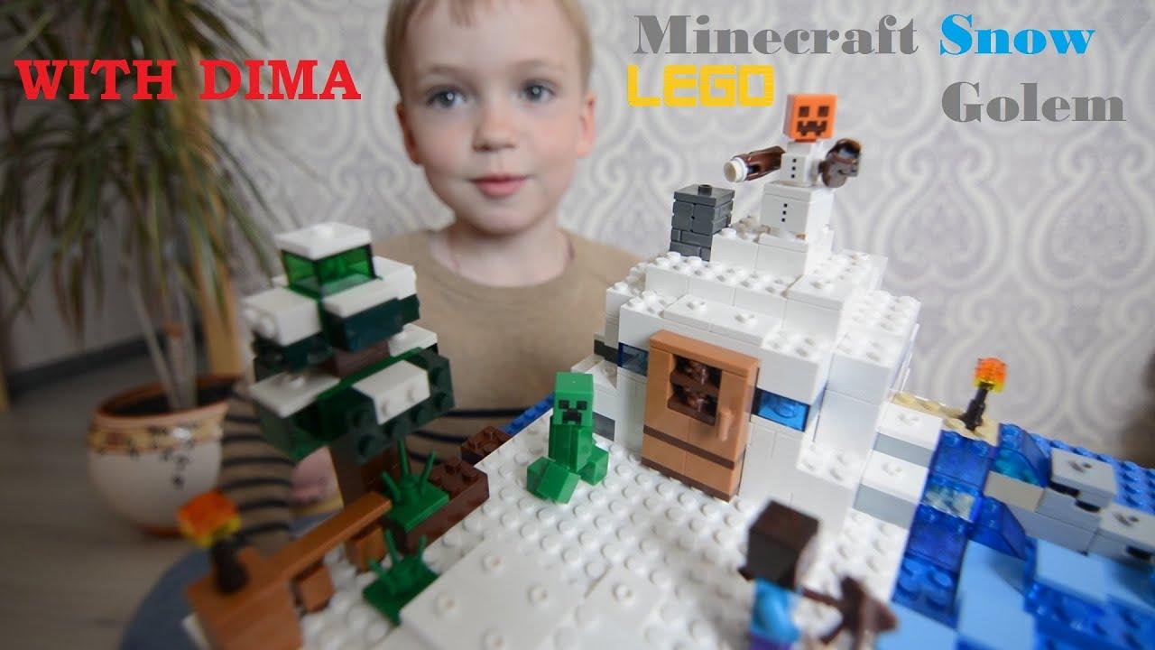 Lego Minecraft привет из детства с привкусом майнкрафта 12