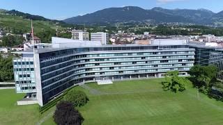 Nestlé Headquarters in Vevey, Switzerland