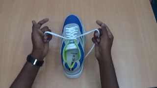 Life Hack #9: How to Tie a Shoelace Knot in just 2 Seconds