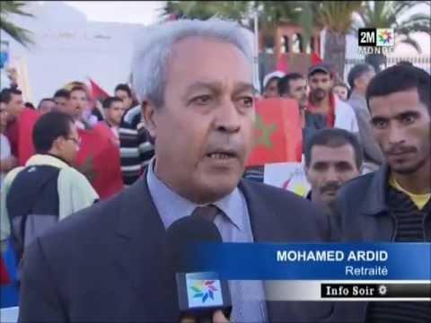 Manifestation devant le siège de l'ambassade d'Algérie au Maroc
