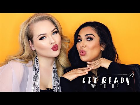 GET READY WITH ME + Huda Beauty!