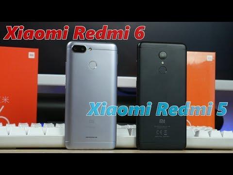 Что купить Xiaomi Redmi 5 или Xiaomi Redmi 6 в 2018 году?