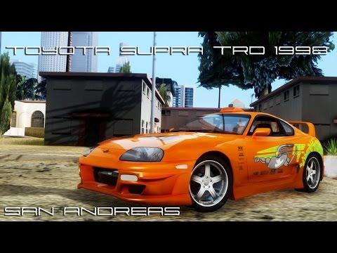 Toyota Supra TRD 1998