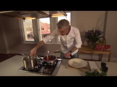 How to make Slow Cooked Tomato Sauce featuring San Remo Brand Ambassador Adam Swanson