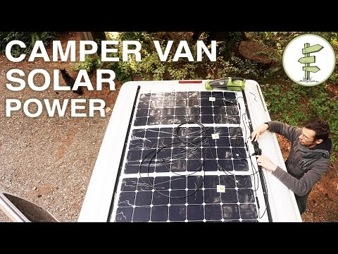 Van Life - Our Amazing Solar Power Set up!