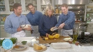 How to Serve Spaghetti Squash - April Fools Day - Martha Stewart