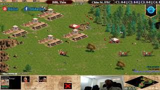 AoE 2vs2 Assyrian BiBi, Thầu vs Chim Sẻ, ĐXC Ngày 30-9-2018