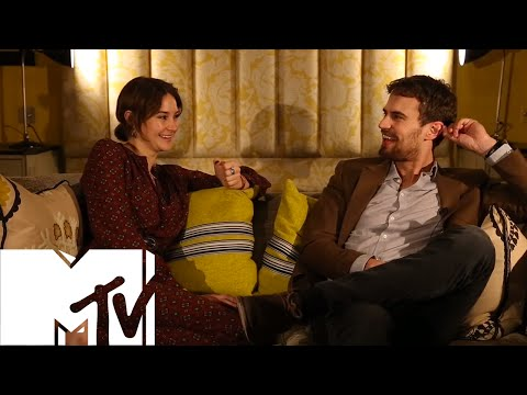 Insurgent: Shailene Woodley & Theo James Play 'Would You Rather?'