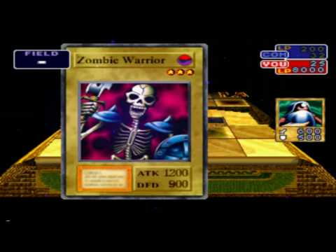 Yu-Gi-Oh Forbidden Memories Armored Zombie Fusion