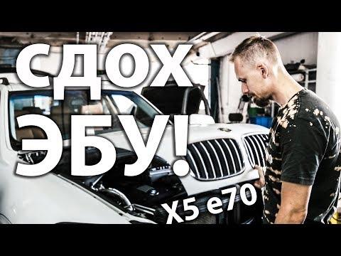 Ремонт эбу двигателя Нищеброд на BMW X5 владение без денег