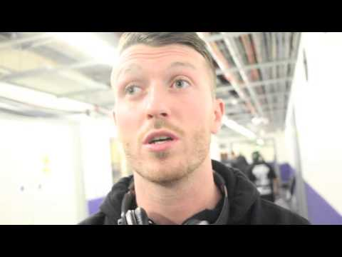 SCOTT CARDLE TALKS TO IFL TV BEFORE FIGHT AT ECHO ARENA AS HE TARGETS FLANAGAN CLASH NEXT YEAR.