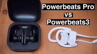 Powerbeats Pro vs Powerbeats 3 Wireless Earphones