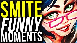 SMITE ART ONLINE! - SMITE FUNNY MOMENTS
