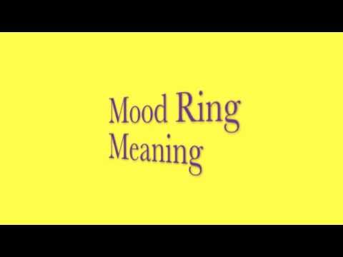 TOP 20 YELLOW Mood Ring & Color Meanings