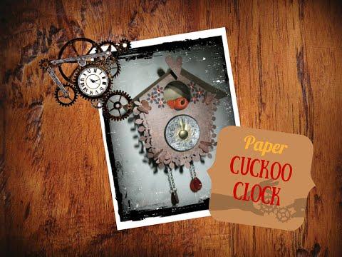 Orologio a Cucù – Paper Cuckoo Clock