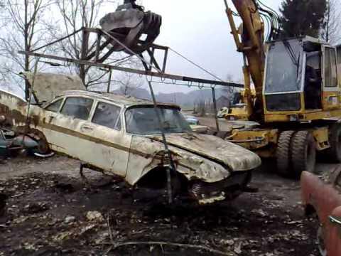 Duster For Sale >> 1957 Plymouth Belvedere - Oldtimerfriedhof Kaufdorf - Swiss Junkyard (2/2) - YouTube