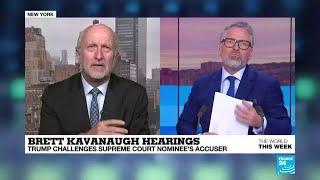 Brett Kavanaugh hearings: Trump challenges Supreme Court nominee''s accuser