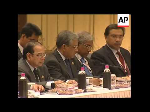 Leaders of regional summit call for coordinated effort to fight economic crisis