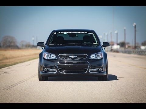 Hennessey Chevy SS Runs 11.84 @ 117 mph 1/4 mile