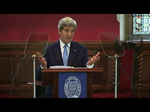 Secretary Kerry Discusses the Need for a Clean Energy Future
