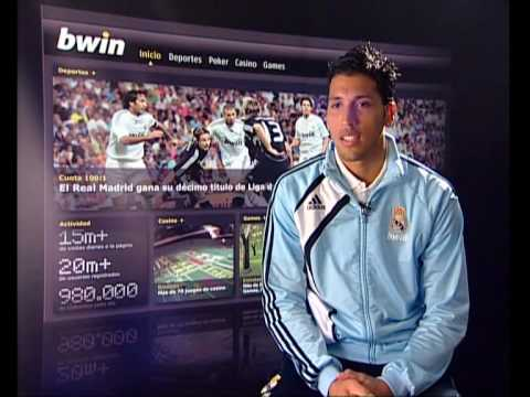 bwin players' forecast with Ezequiel Garay (Zaragoza - Real Madrid, matchday 34) Video