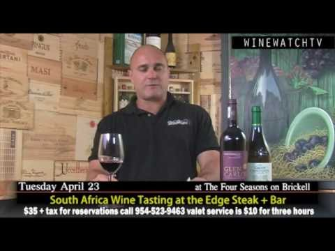 South Africa Wine Tasting at the Edge Steak + Bar