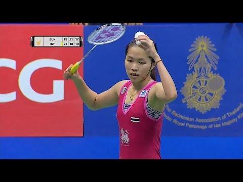 Princess Sirivannavari Thailand Masters 2016 | Badminton F M5-WS | Sun Yu Vs Ratchanok Intanon