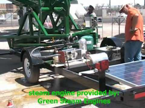 Solar Powered Steam Generator Solar Steam Engine Generator