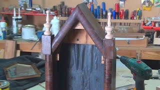 Turning a Wood Finial for Waterbury Clock