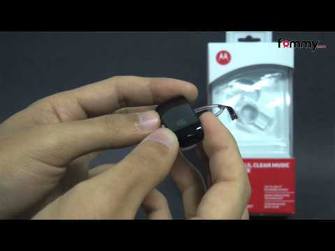 Motorola® HK250 Bluetooth Headset Review in HD