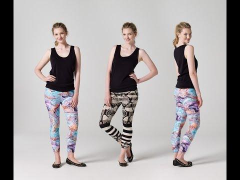 How to Make Leggings | Teach Me Fashion